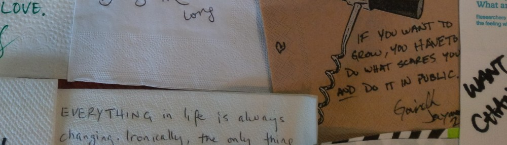 Paper Napkin Wisdom – Blog and Podcast For Entrepreneurs, Leaders, and Difference-Makers